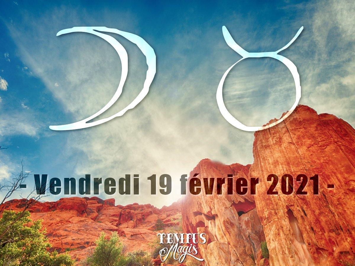 Lune en Taureau février 2021