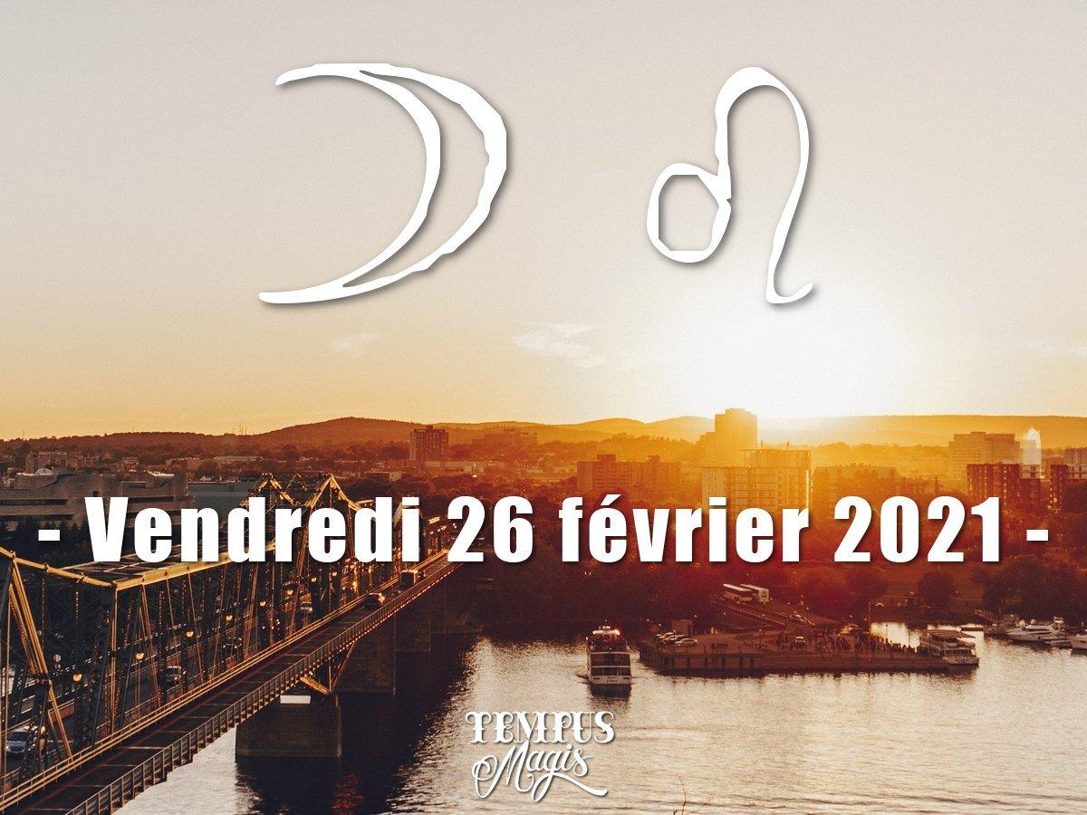 Lune en Lion février 2021