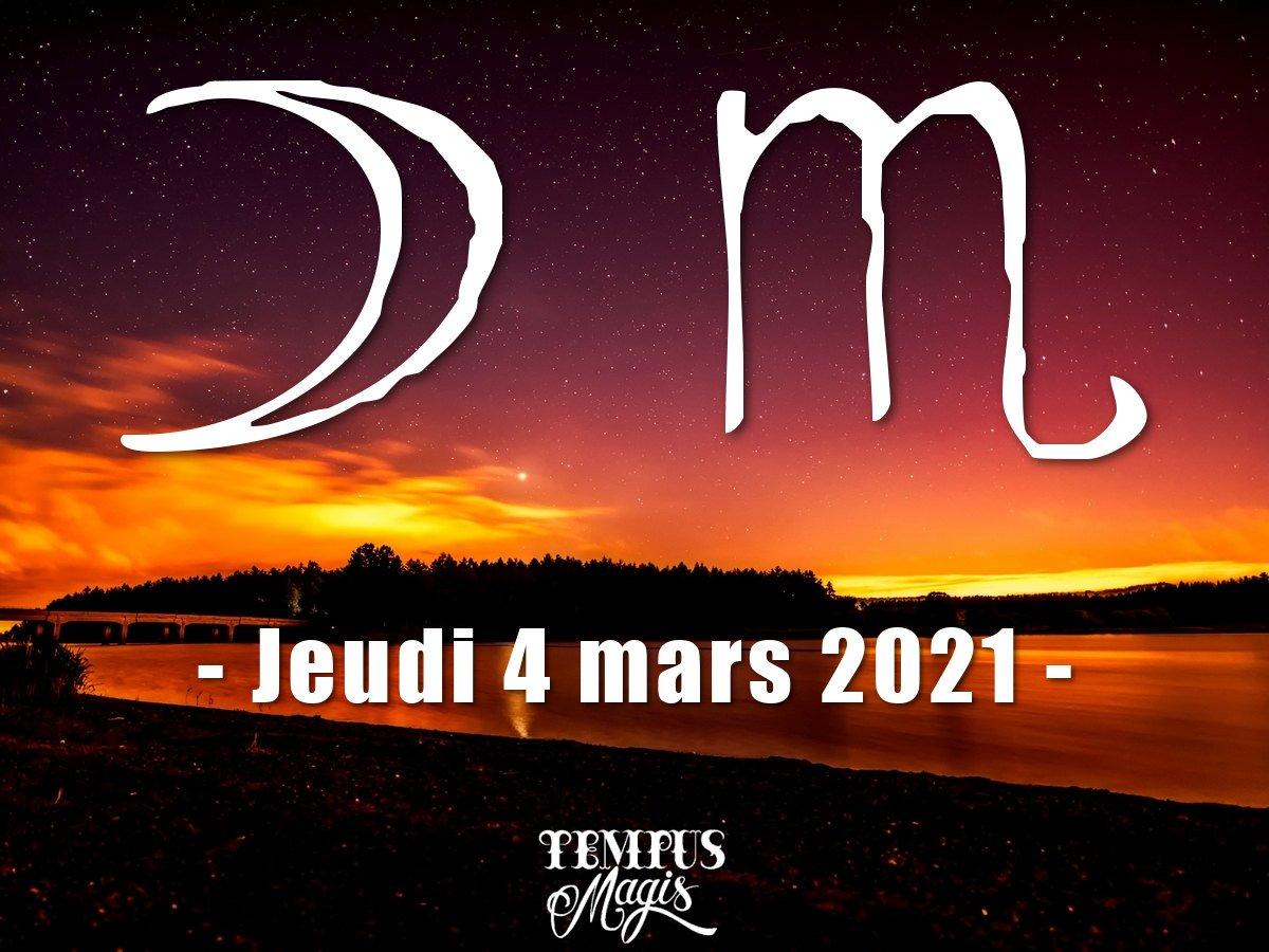 Lune en Scorpion mars 2021
