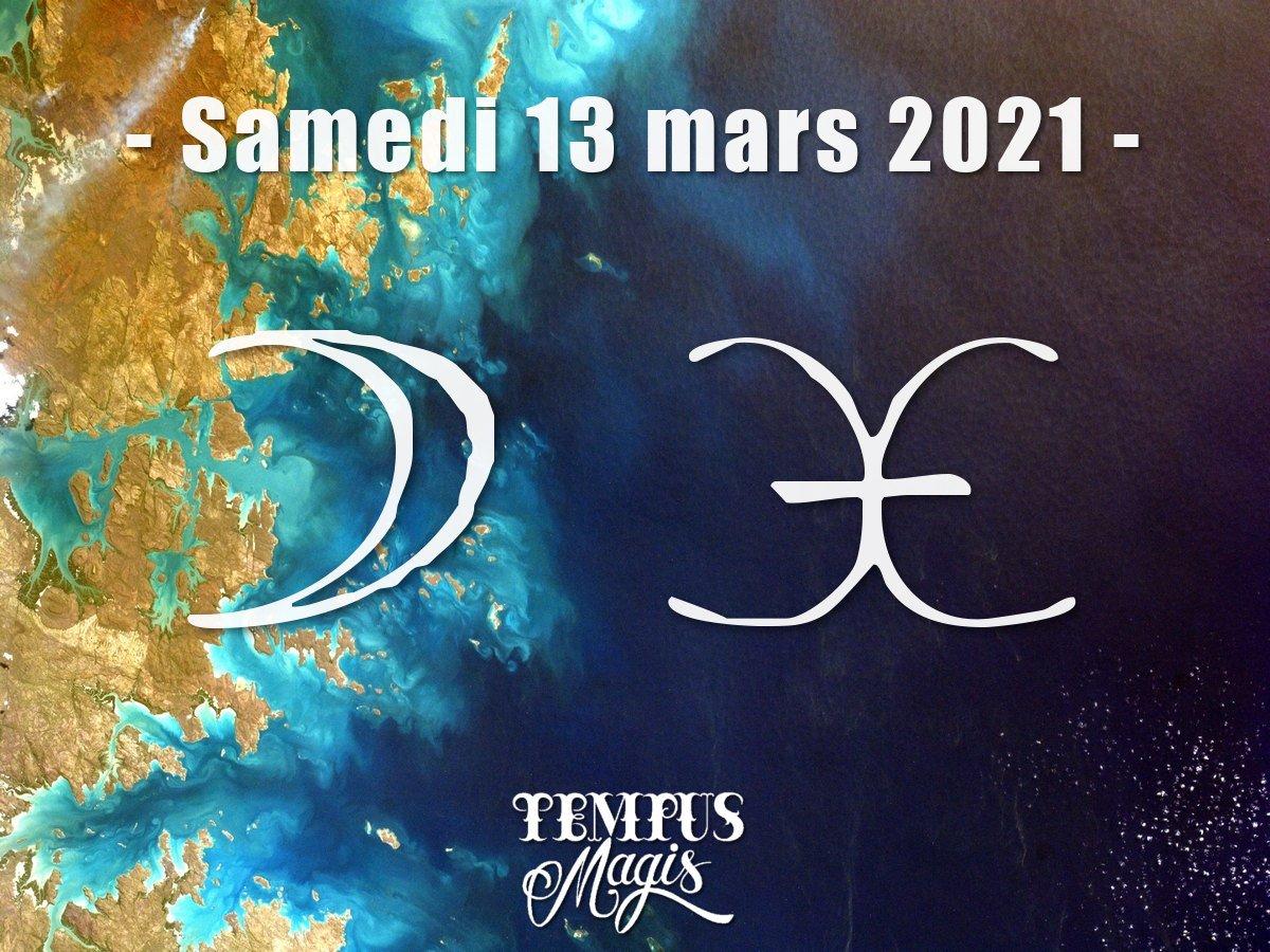 Lune en Poissons mars 2021