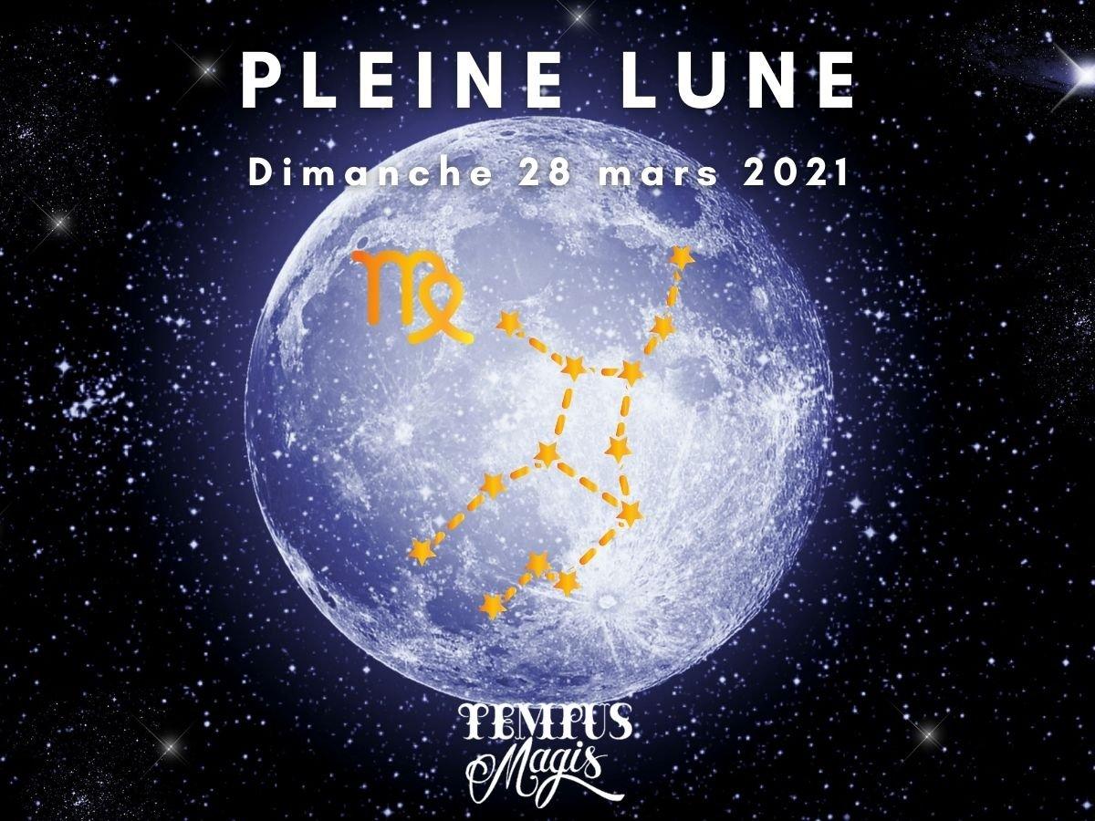 Pleine Lune mars 2021