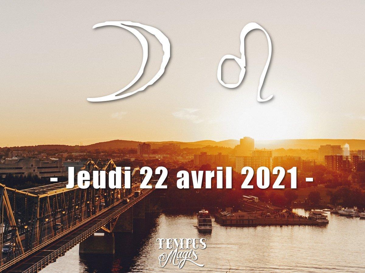Lune en Lion avril 2021