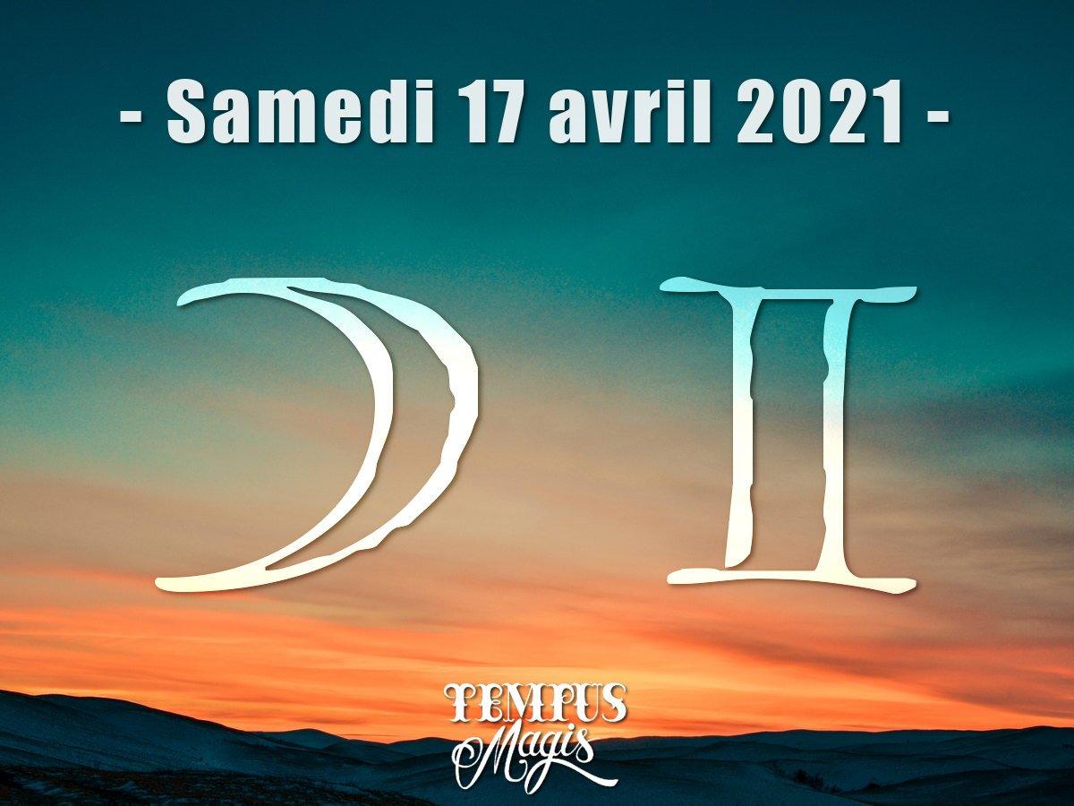 Lune en Gémeaux avril 2021