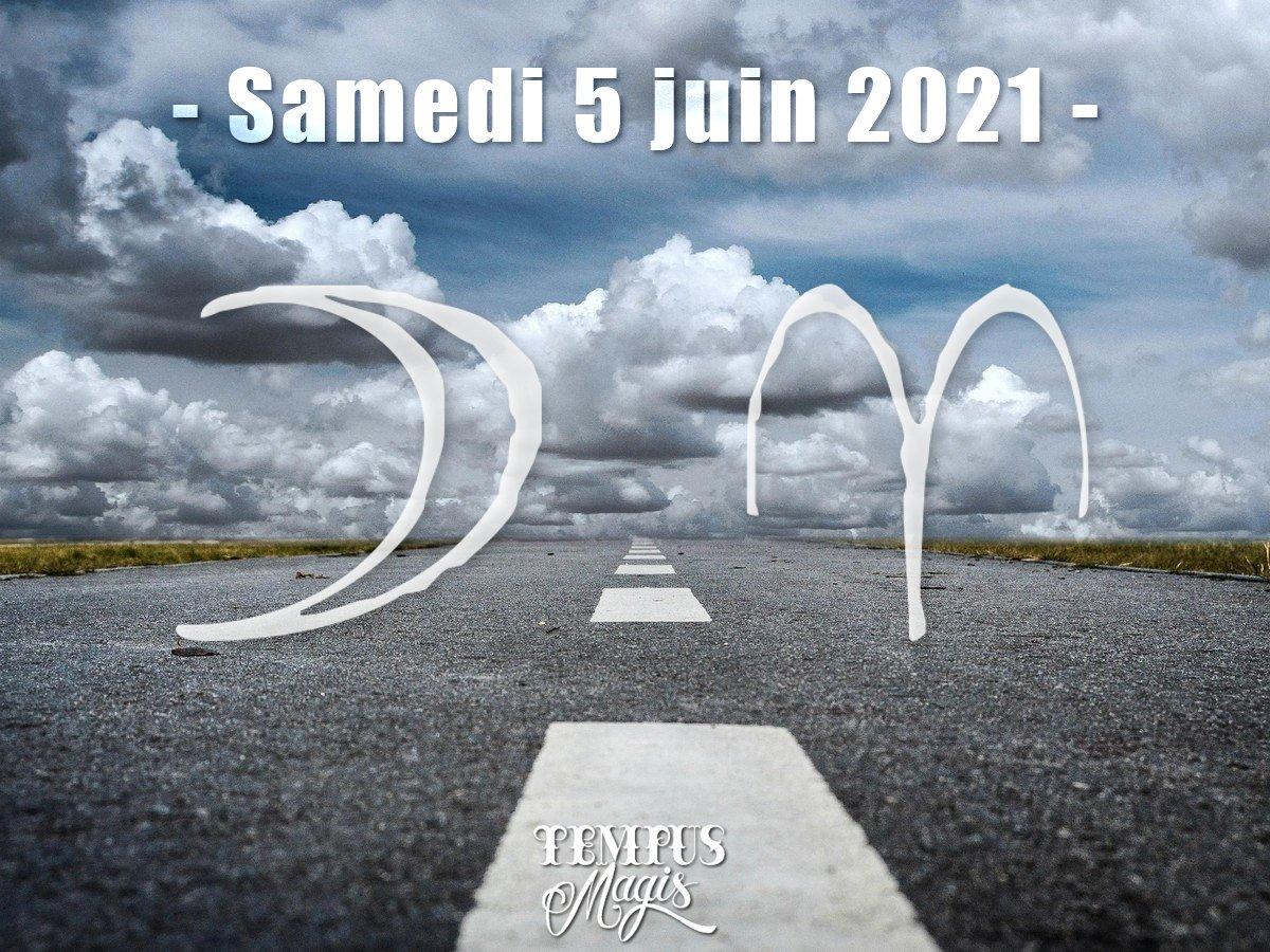 Lune en Bélier juin 2021