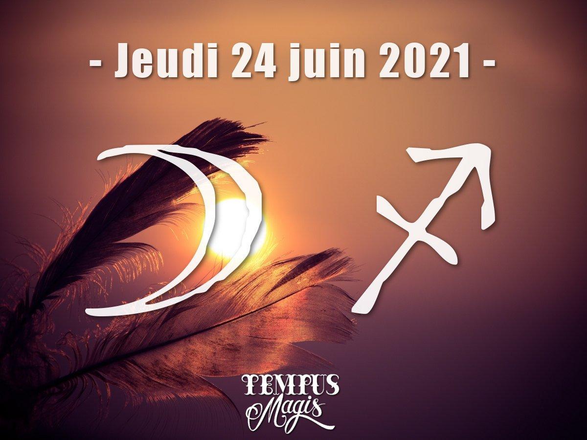 Lune en Sagittaire juin 2021
