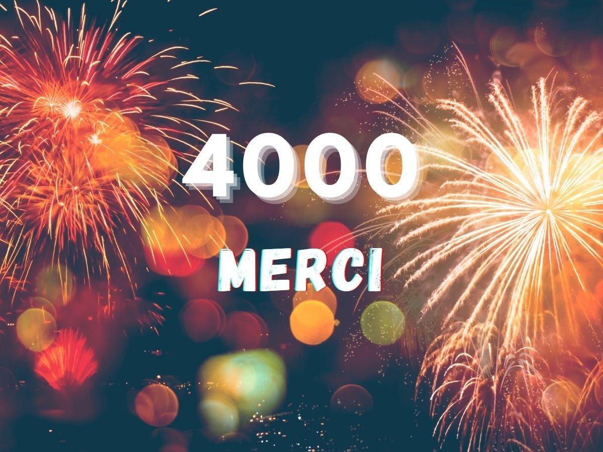 4000 membres Facebook