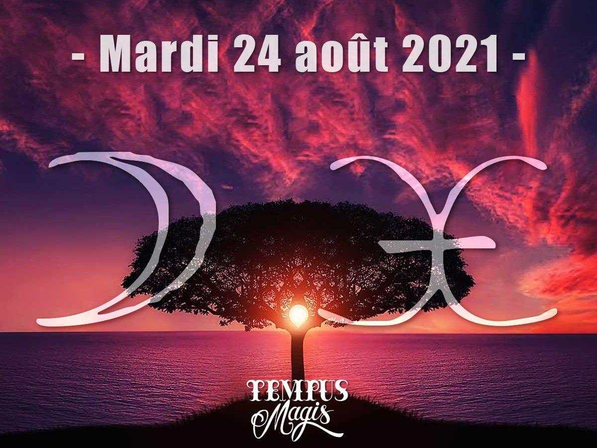 Lune en Poissons aout 2021