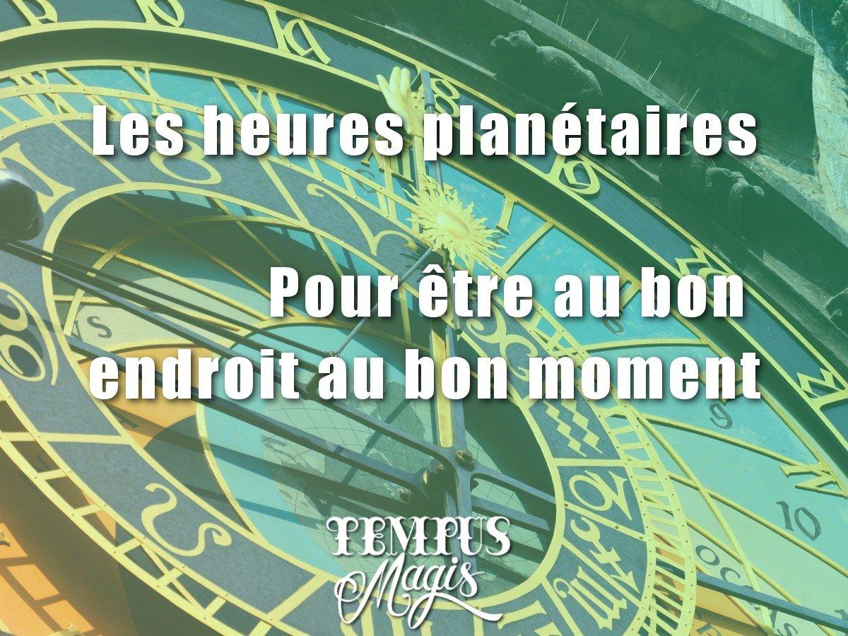 Tuto : Les heures planétaires
