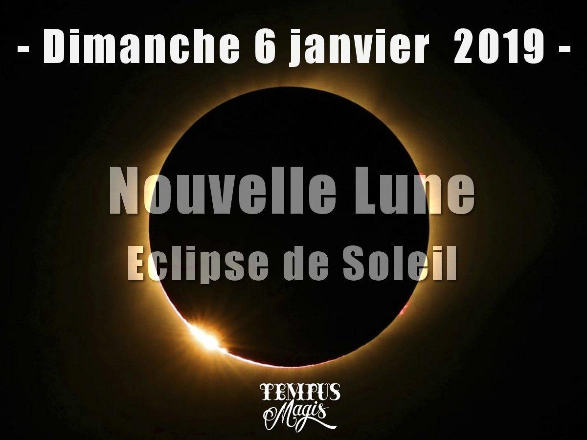Astrologie élective - Eclipse de Soleil du dimanche 6 janvier 2019