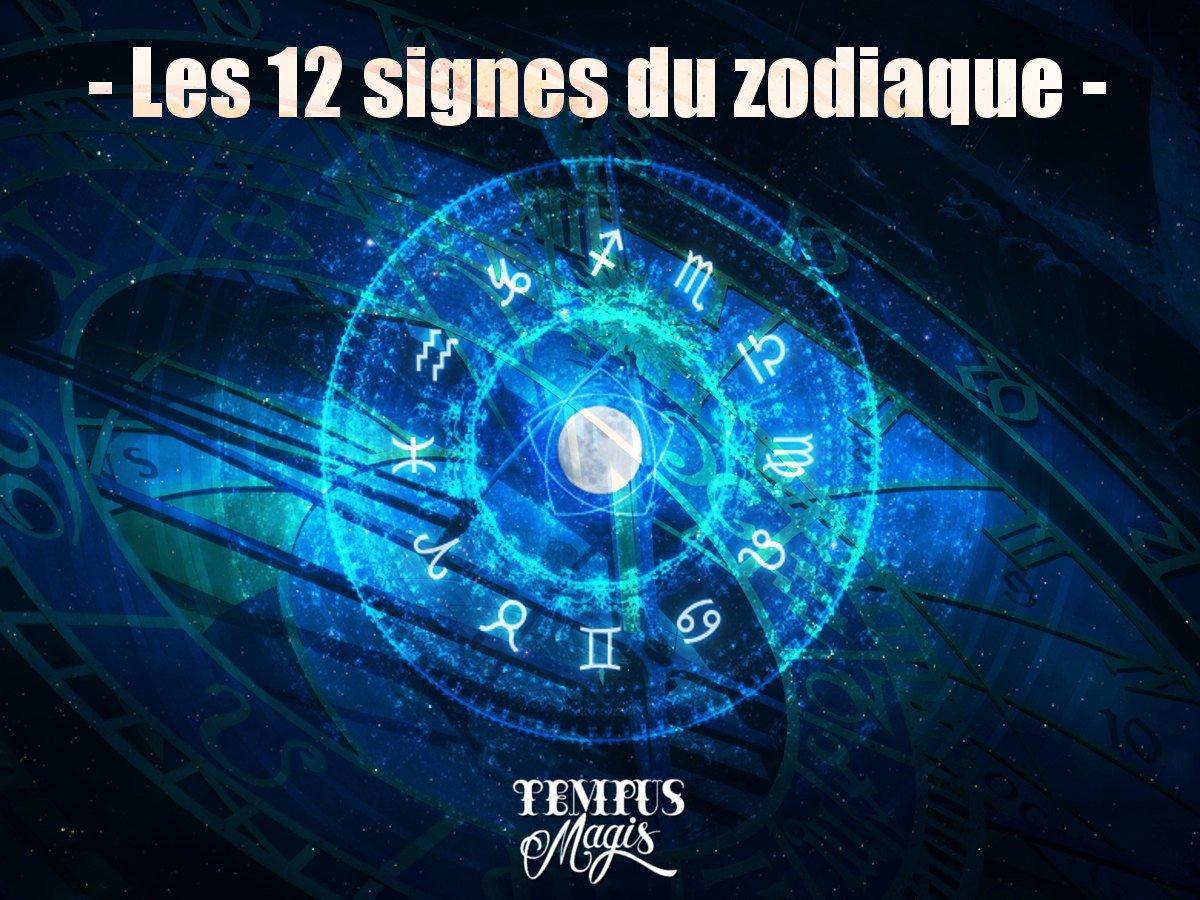 Les 12 signes du zodiaque en astrologie traditionnelle