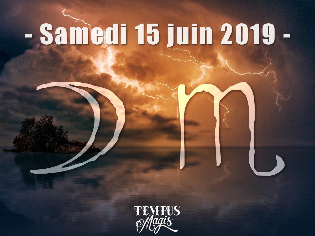Astrologie sidérale : Lune en Scorpion juin 2019