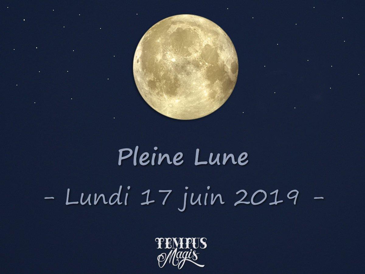 Pleine Lune juin 2019
