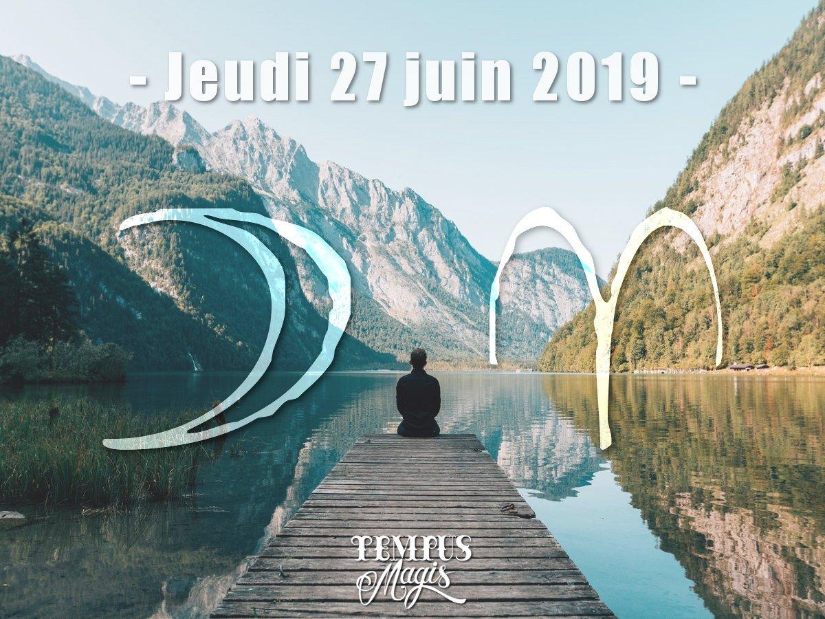 Lune en Bélier - Juin 2019