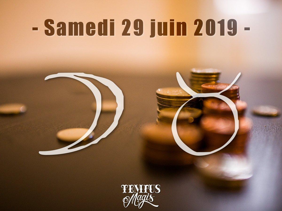 Juin 2019 - Lune en Taureau