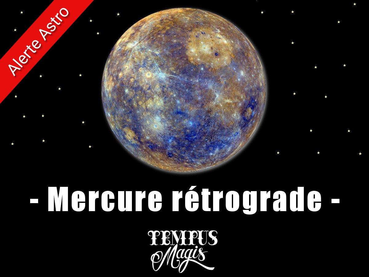 Mercure rétrograde - Juillet 2019