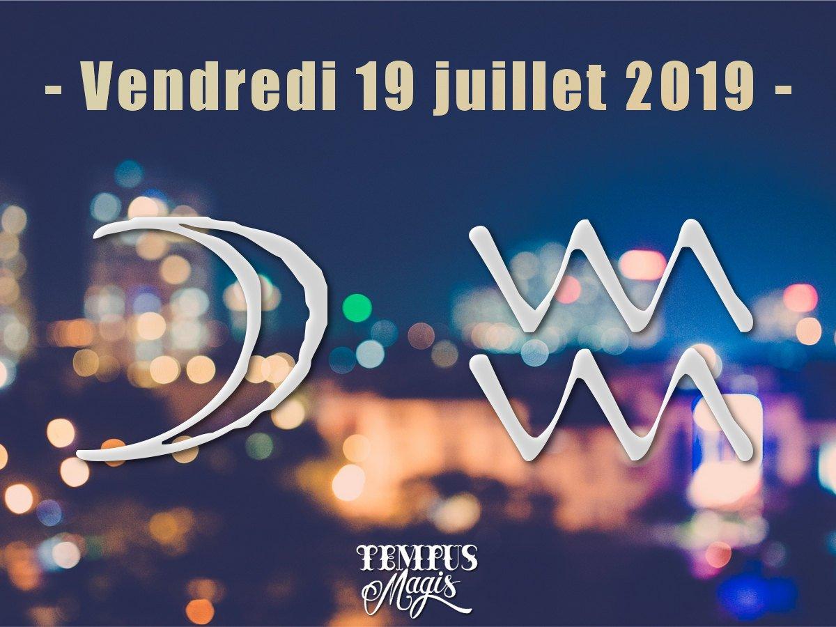 Lune en Verseau - Juillet 2019