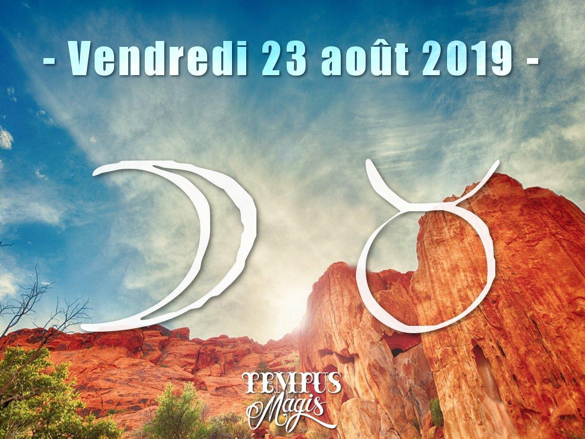 Lune en Taureau - Aout 2019