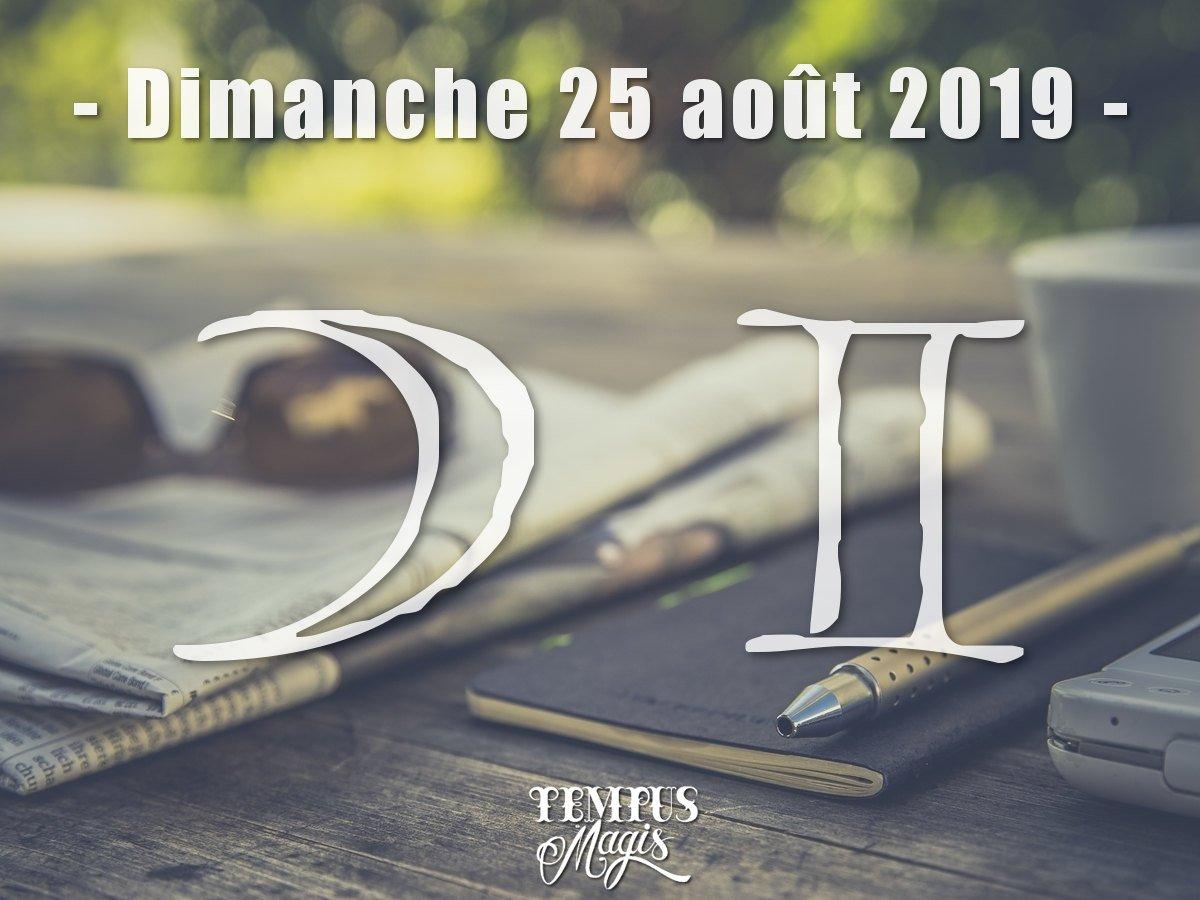 Lune en Gémeaux - Août 2019