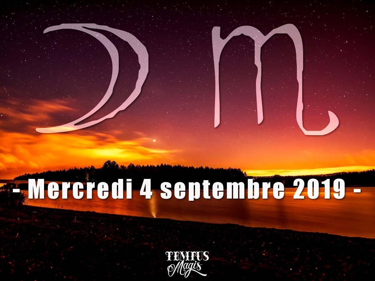 Lune en Scorpion - Septembre 2019