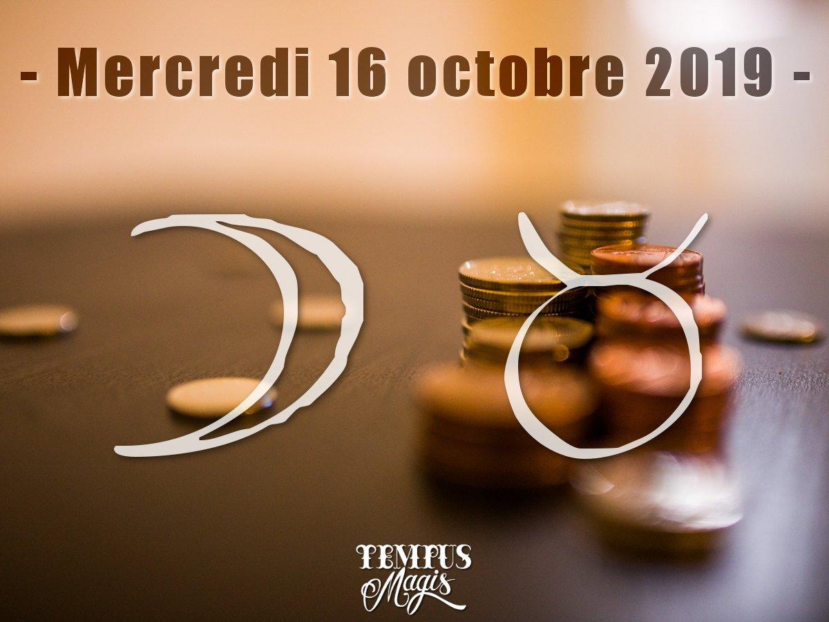 Astrologie du jour : Lune en Taureau octobre 2019