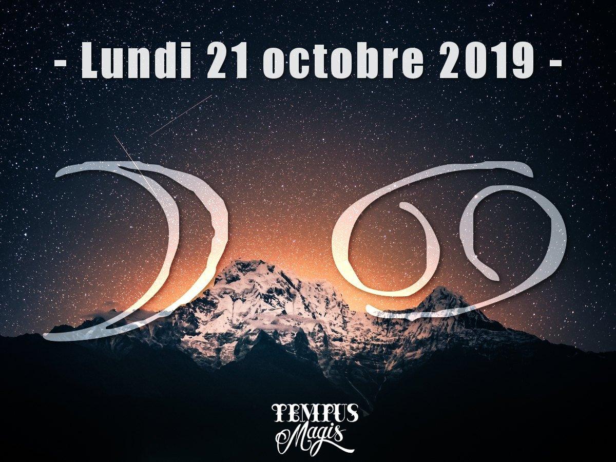 Astrologie du jour : Lune en Cancer octobre 2019