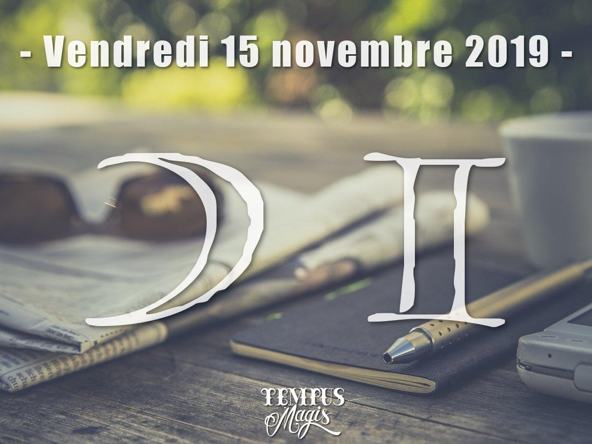 Lune en Gémeaux : Novembre 2019