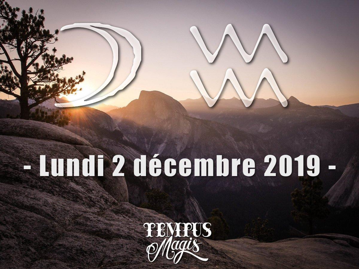 Transit de la Lune en Verseau - Décembre 2019