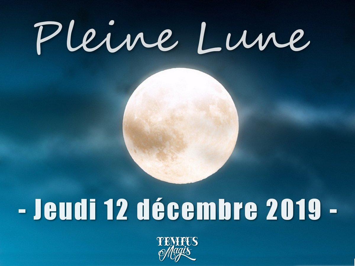 Pleine Lune décembre 2019