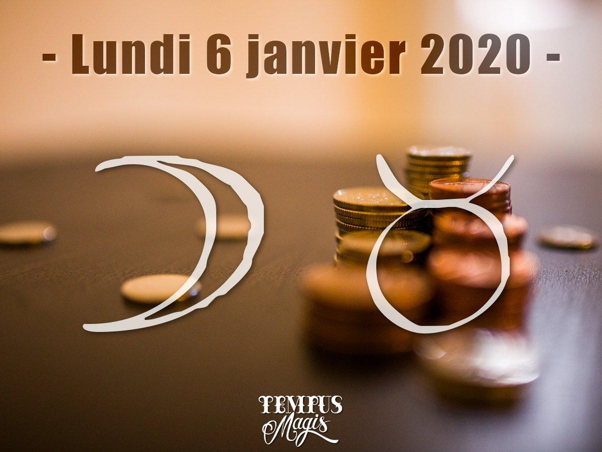 Astrologie sidérale : Lune en Taureau janvier 2020