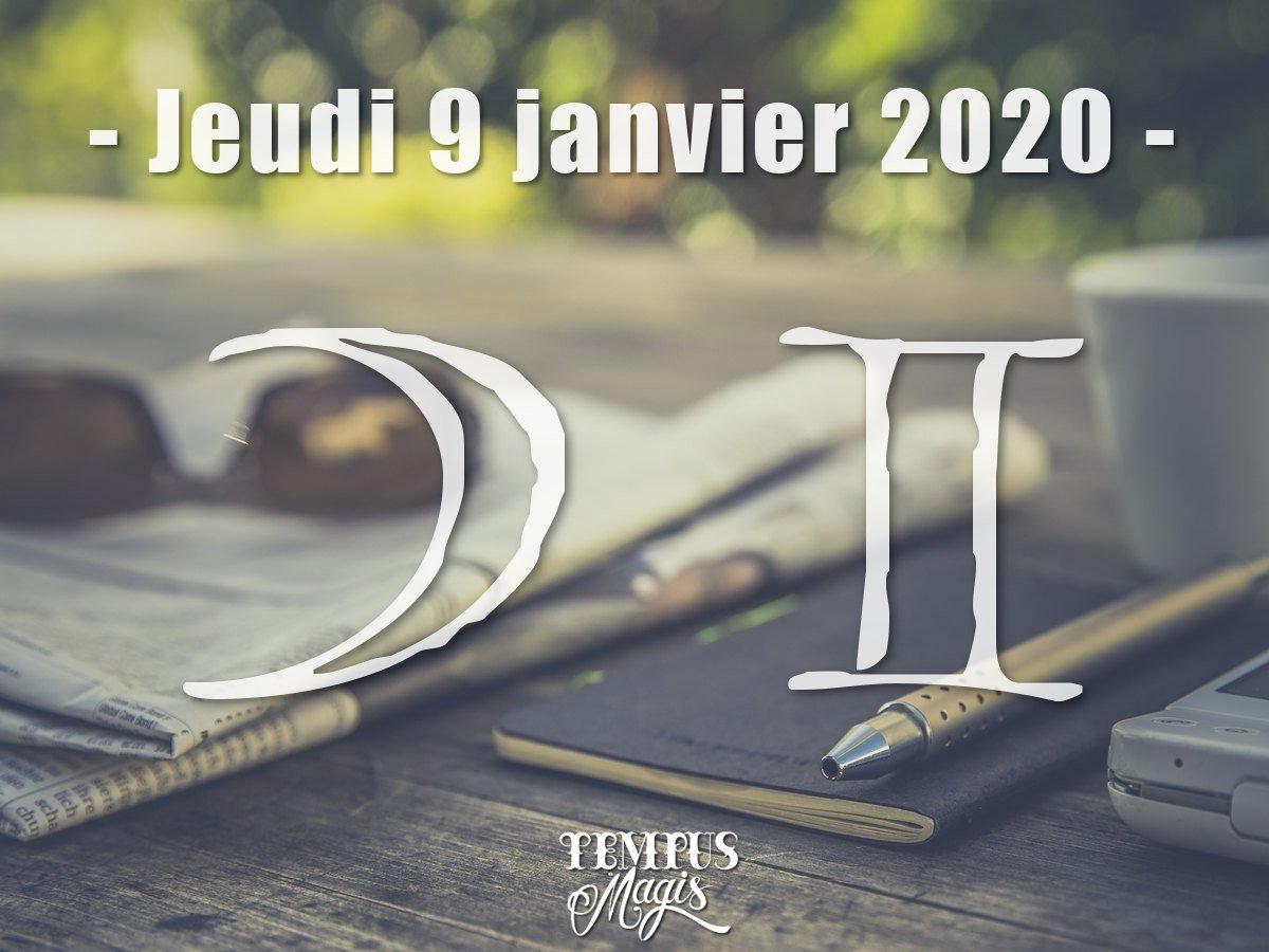 Astrologie sidérale : Lune en Gémeaux janvier 2020