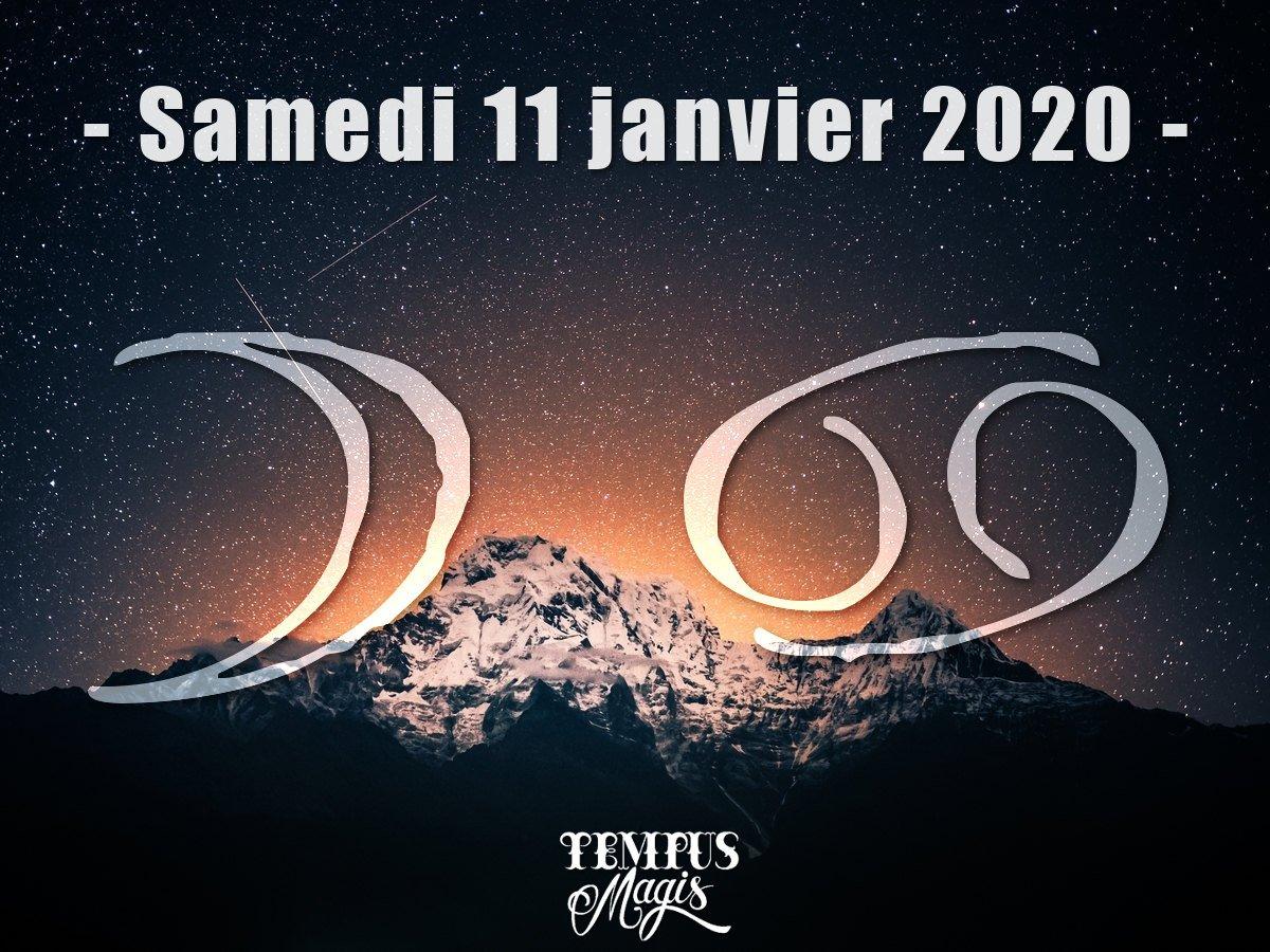 Astrologie sidérale : Lune en Cancer janvier 2020