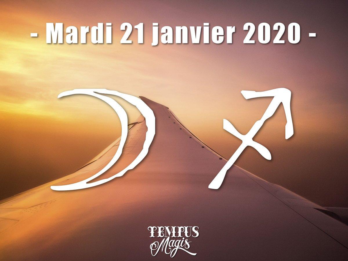 Lune en Sagittaire janvier 2020