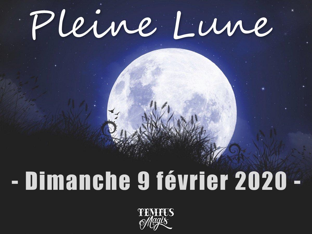 Pleine lune février 2020