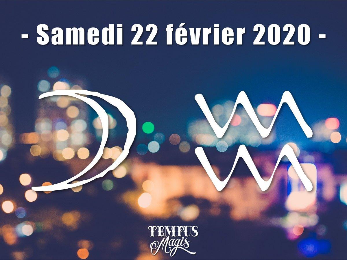 Lune en Verseau février 2020
