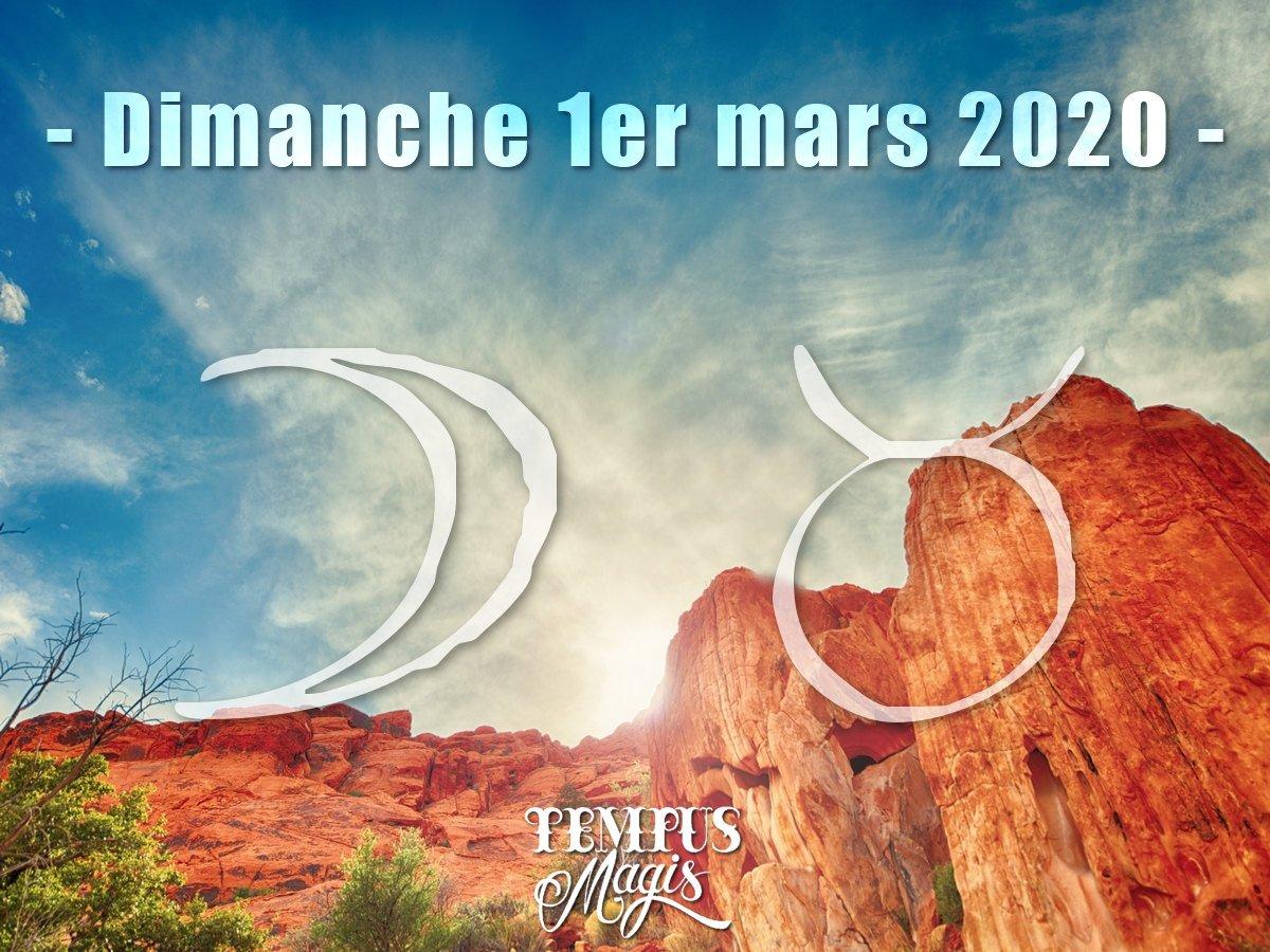 Lune en Taureau  mars 2020