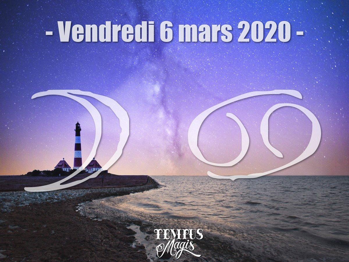 Lune en Cancer mars 2020