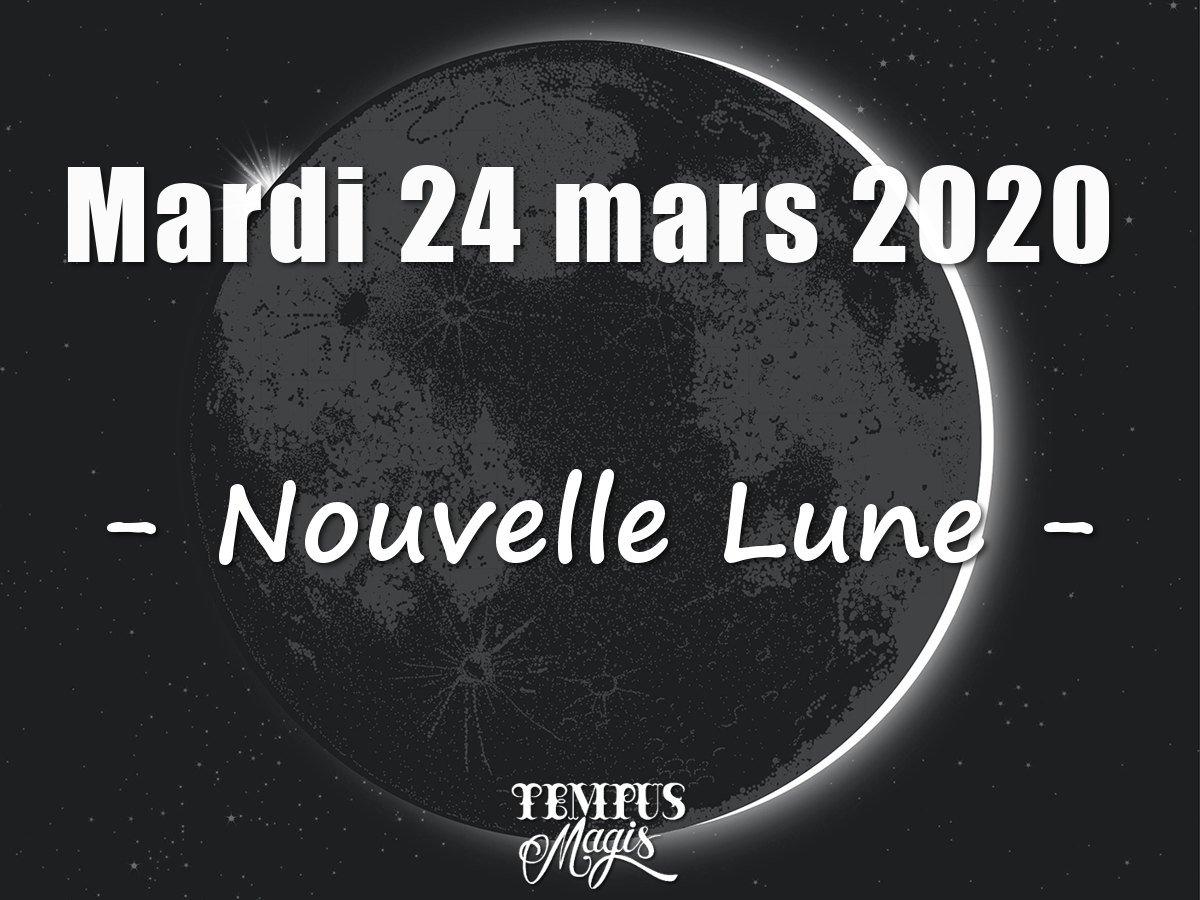 Nouvelle Lune : Mars 2020