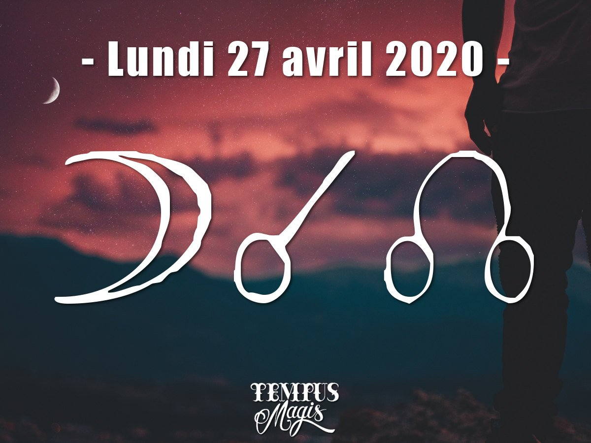 Conjonction Lune / Noeud lunaire Nord avril 2020