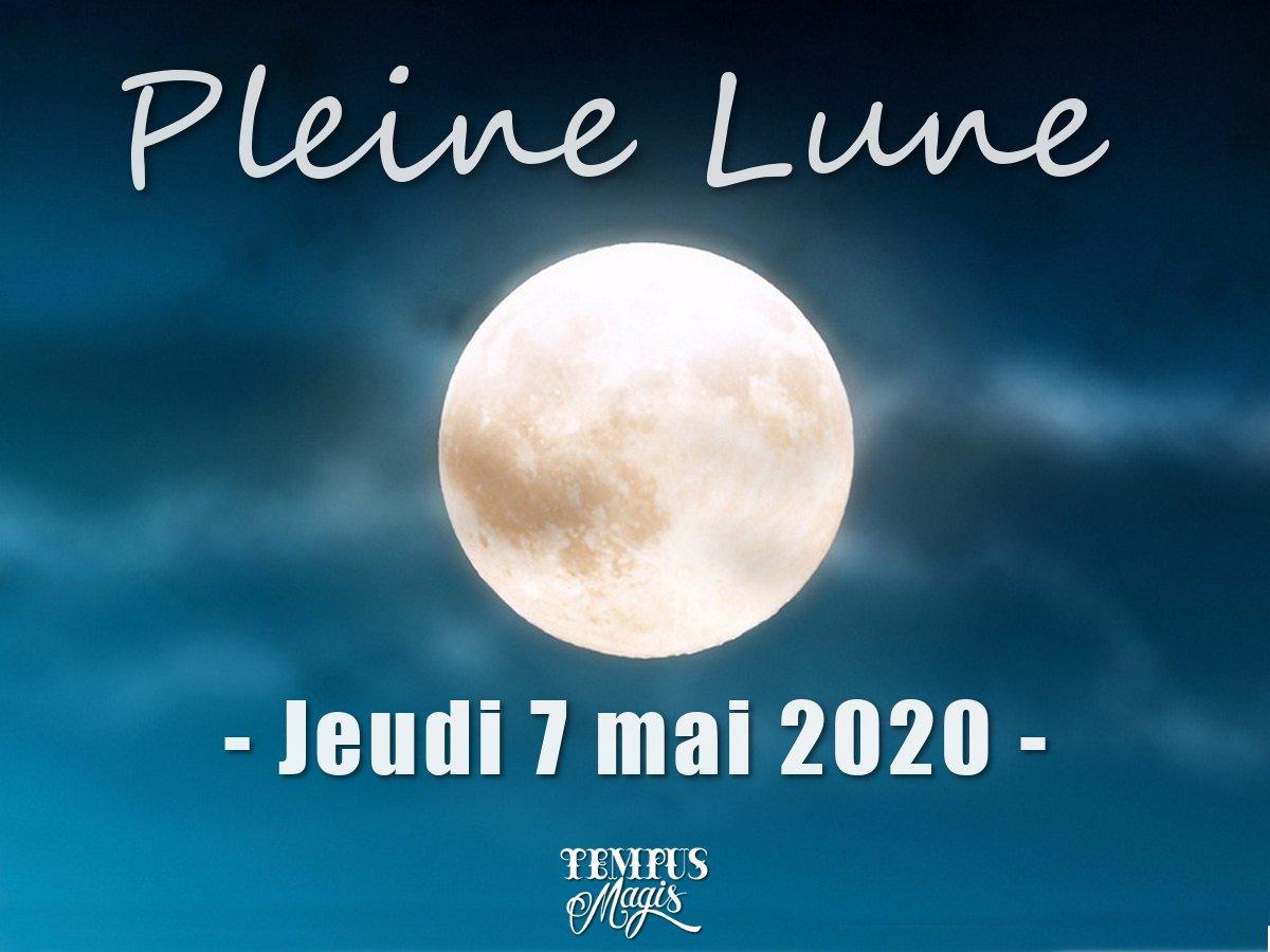 Pleine Lune mai 2020
