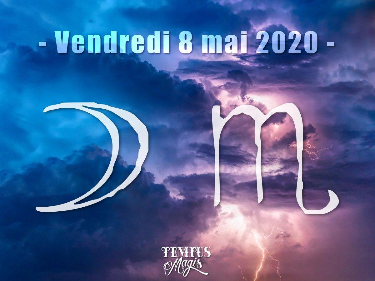 Lune en Scorpion mai 2020