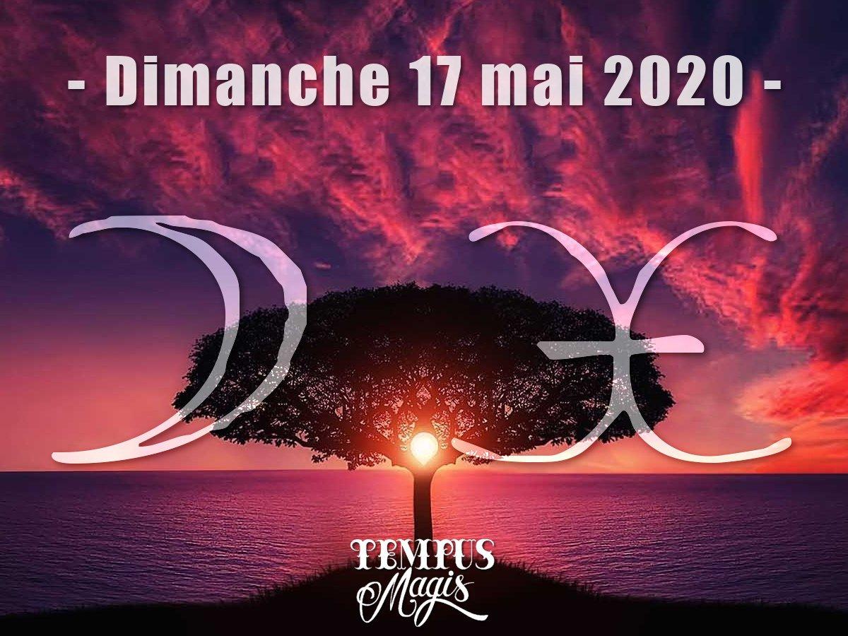 Astrologie sidérale : Lune en Poissons mai 2020