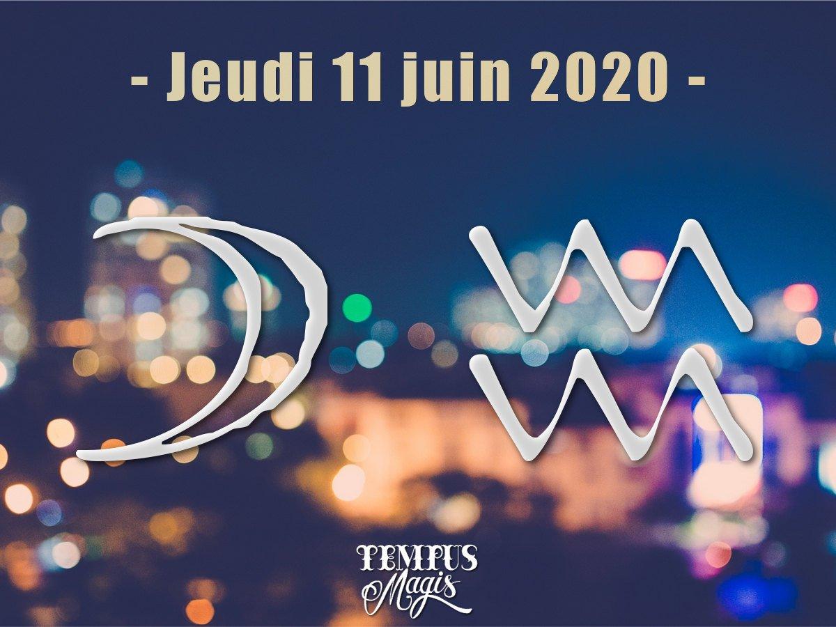 Astrologie sidérale : Lune en Verseau juin 2020