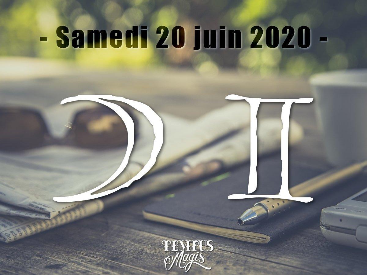 Lune en Gémeaux  - Juin 2020