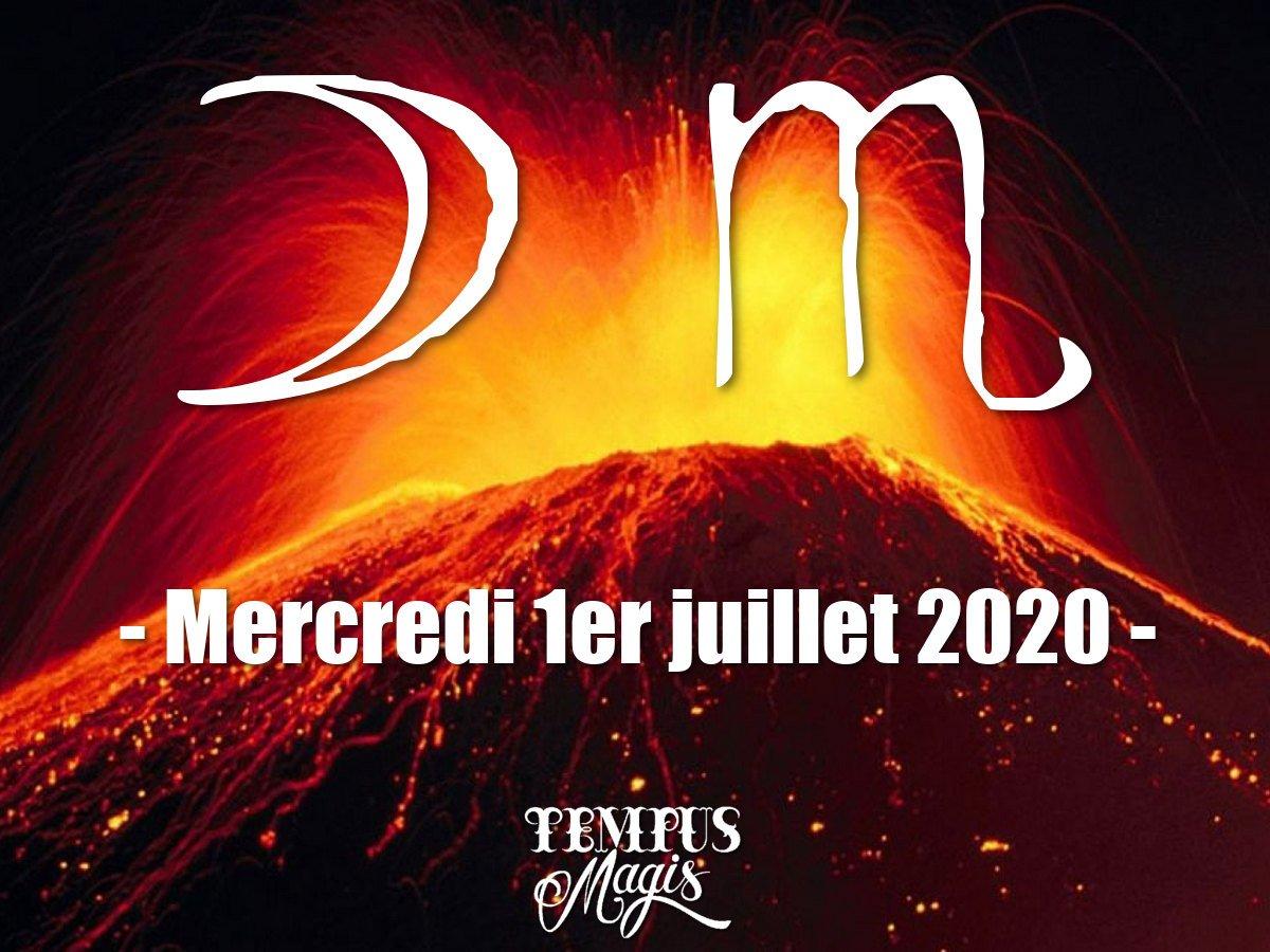 Astrologie du jour : Lune en Scorpion juin 2020