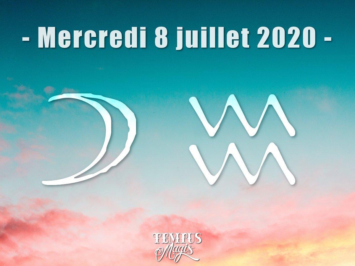 Astrologie du jour : Lune en Verseau juillet 2020