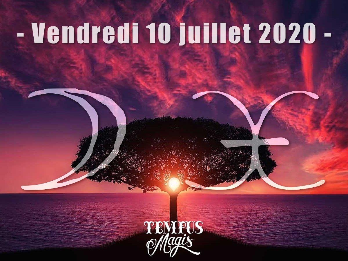 Astrologie du jour : Lune en Poissons juillet 2020