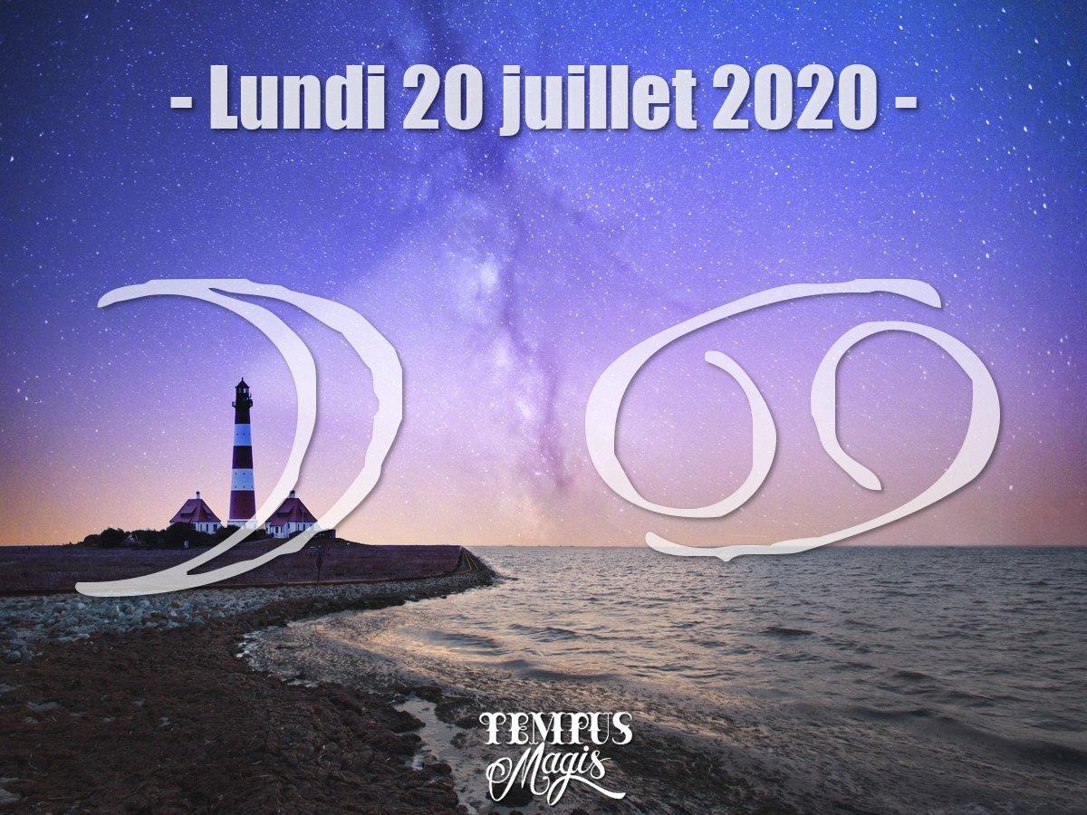 Astrologie du jour : Lune en Cancer juillet 2020