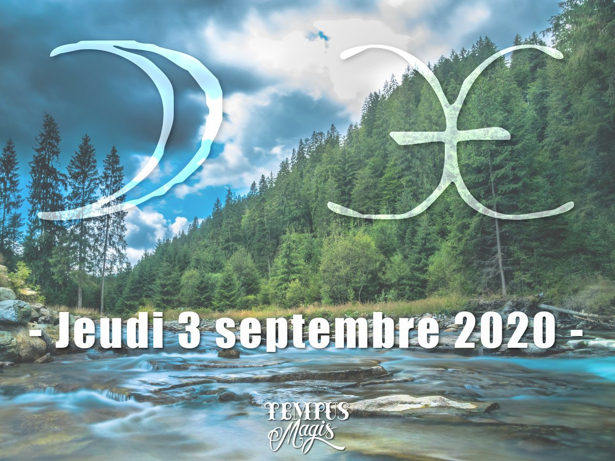 Astrologie du jour : Lune en Poissons septembre 2020