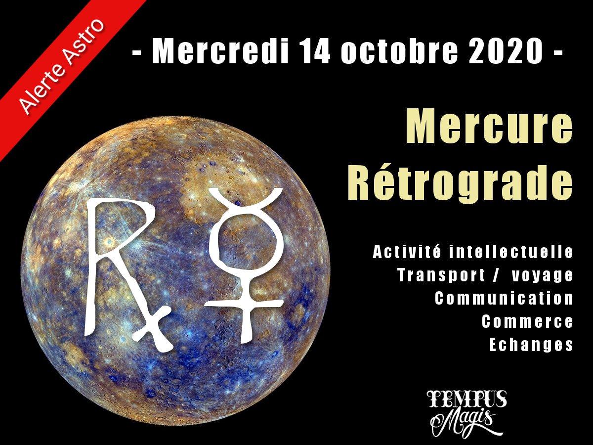 Mercure rétrograde octobre 2020