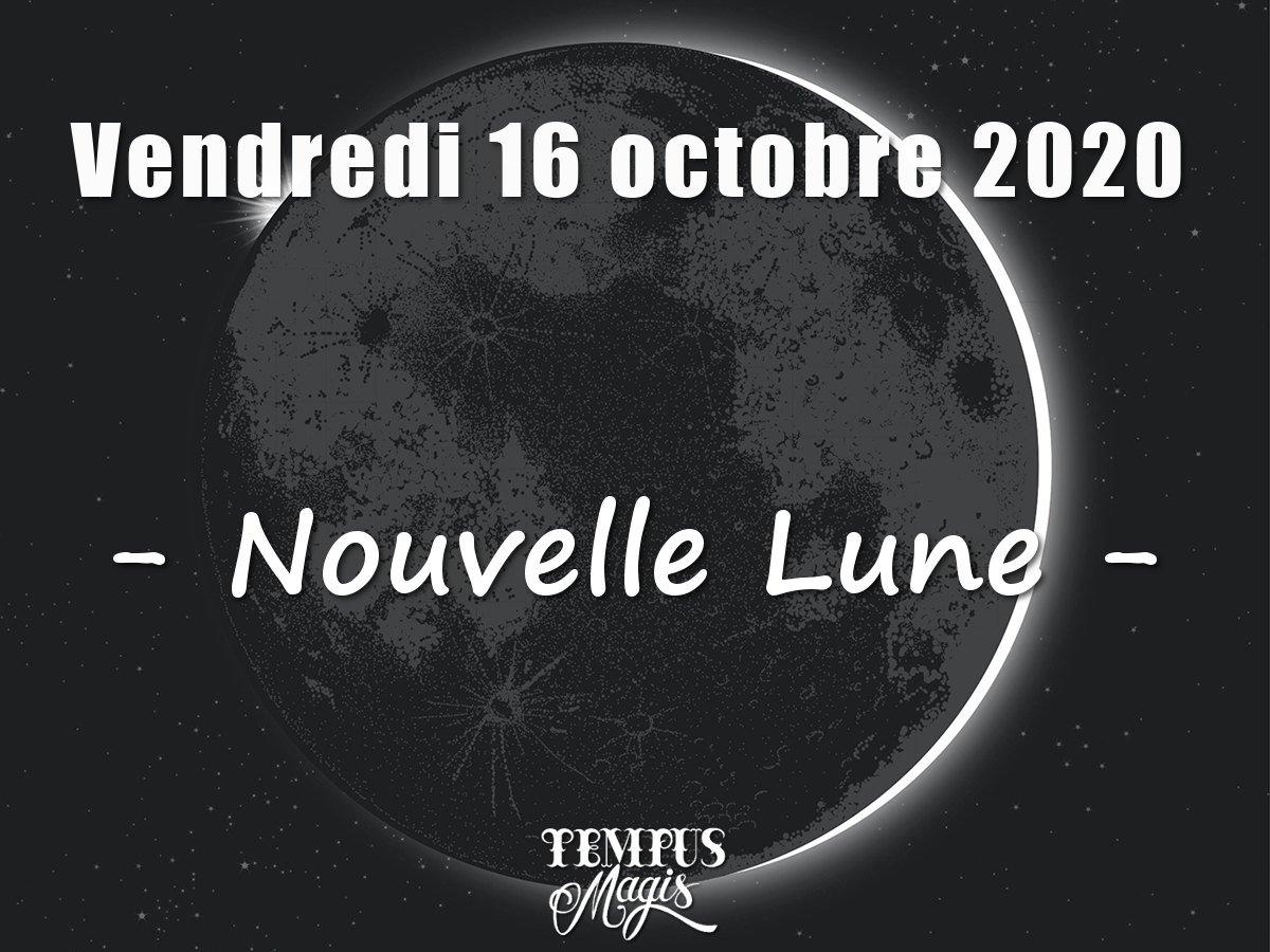 Nouvelle Lune octobre 2020